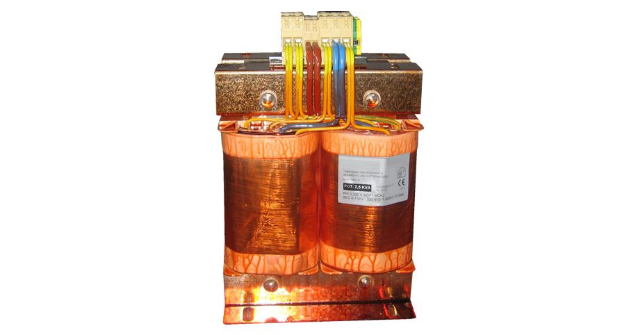 Single Phase Isolating Transformers